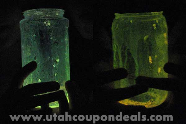 "Homemade Glow in the Dark ""Pixie Dust"""