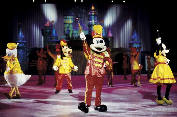 Mickey Donald Goofy and Minnie on Disney on Ice