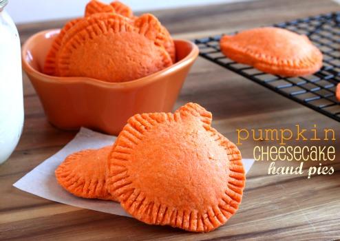 Pumpkin shaped Cheesecake