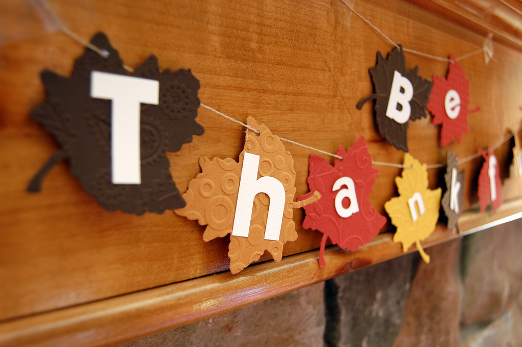 14 days to an easy thanksgiving day 4 shopping day - Thanksgiving decorations ...