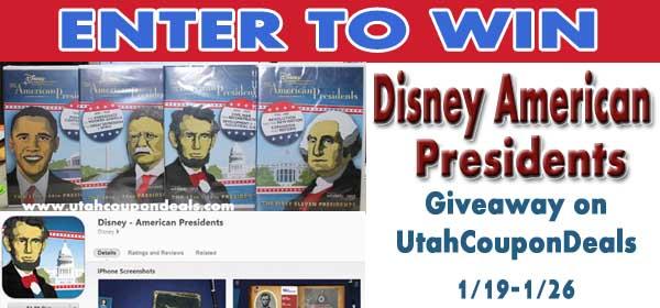 GIVEAWAY: Disney The American Presidents DVD Set + 8 FREE