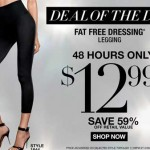 Maidenform Leggings only $11.69 (reg $32) with 10% off code!
