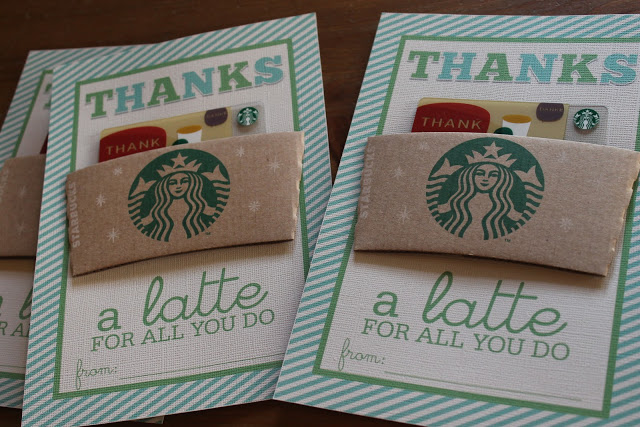 Thanks a Latte Teacher Appreciation Gift