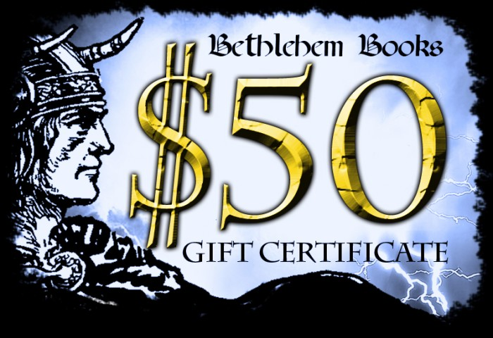 Bethlehem Books 50 Dollar Gift