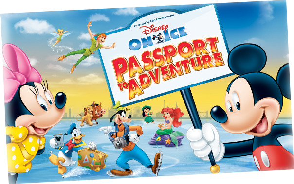 DISNEY ON ICE presents PASSPORT TO ADVENTURE