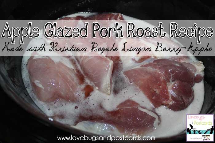 Kristian Regale juices - Apple Glazed Pork Roast Recipe