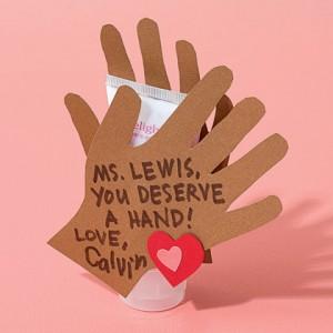 You Deserve a Hand Teacher's Gift