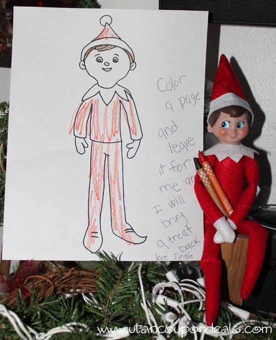 Elf on the Shelf Ideas Printable