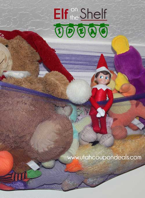 Elf on the Shelf Ideas – Hanging out with friends