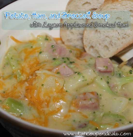 Potato, Ham, and Broccoli Cheese Soup Recipe
