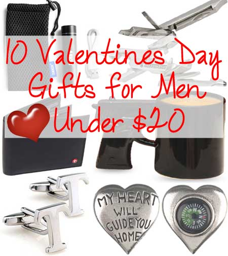 10 valentines day gifts for men under 20 lovebugs and for Great valentine gifts for guys