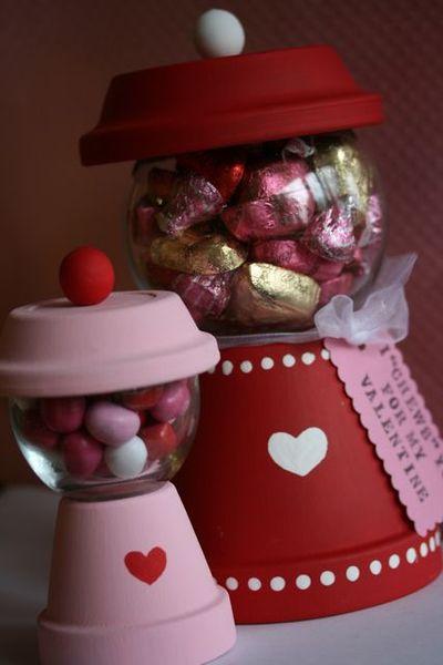 Teachers Valentine's Day Gumball Machine