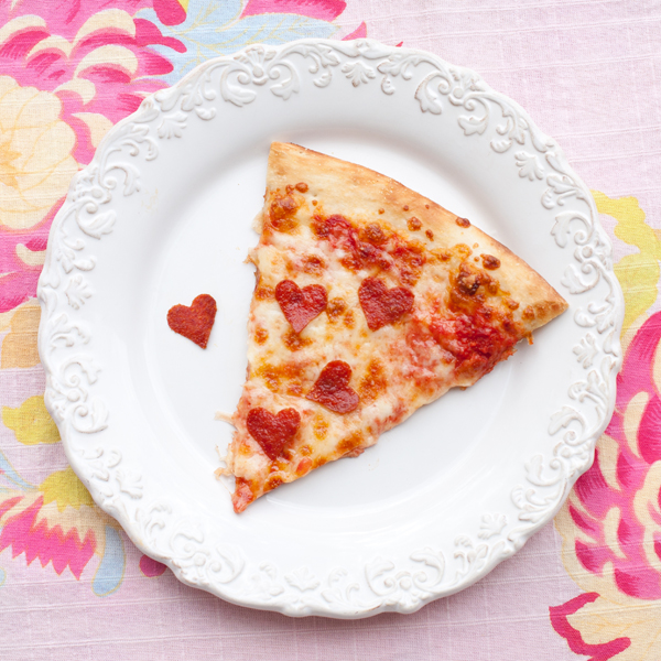 10 Valentine's Day Food & Treats - Heart Shaped Pepperoni's on your Pizza