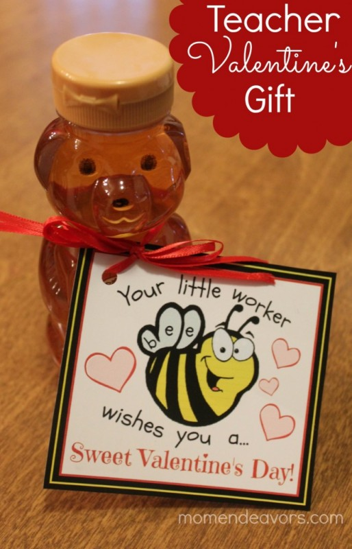 """Teacher """"Little Worker Bee"""" Valentine's Gift"""