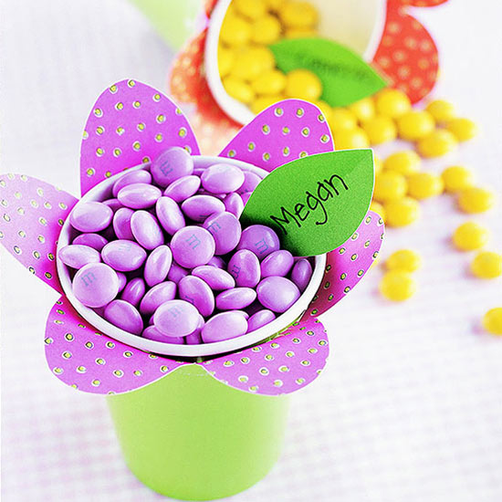 15 Easter Craft Ideas {chicks, bunnies, lambs, and more} - Flower Power Candy Cups