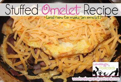 Best Stuffed Omelet Recipe {+ how to make an omelet}