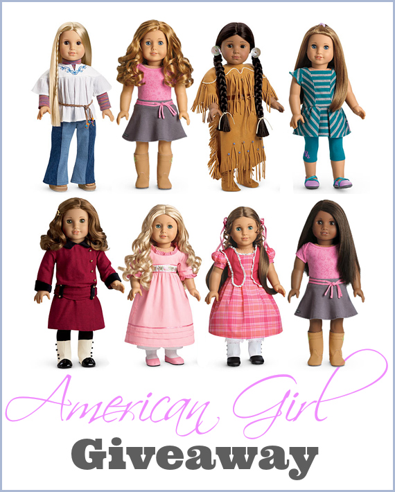 American Girl Doll & Book Giveaway