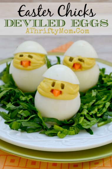 Easter Chicks Deviled Eggs Recipe