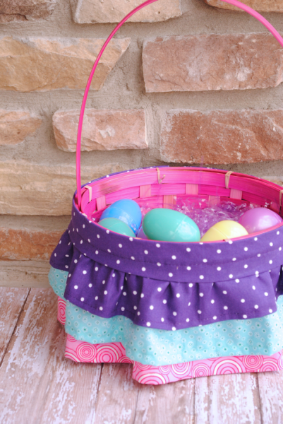 Ruffled Easter Basket