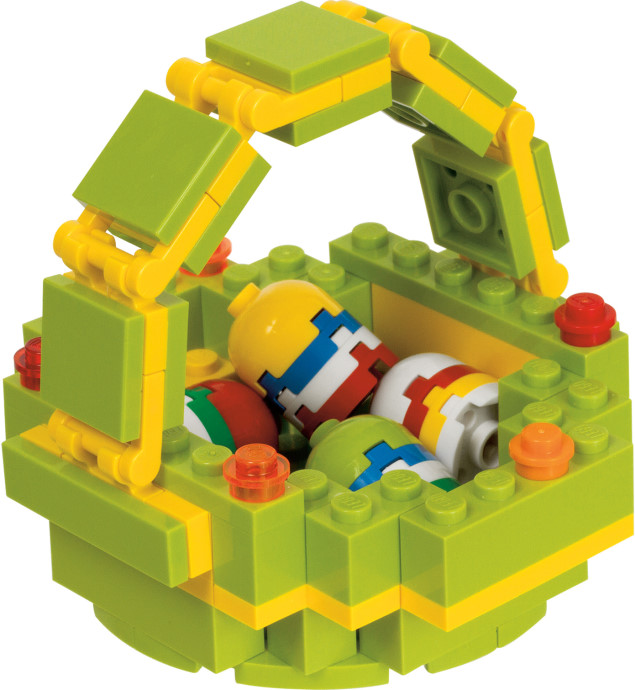 Lego Easter Basket with Eggs