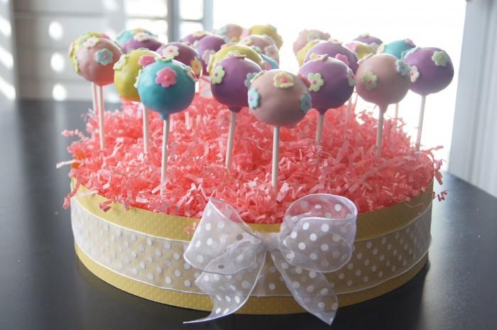 Tinkerbell Cake Pops