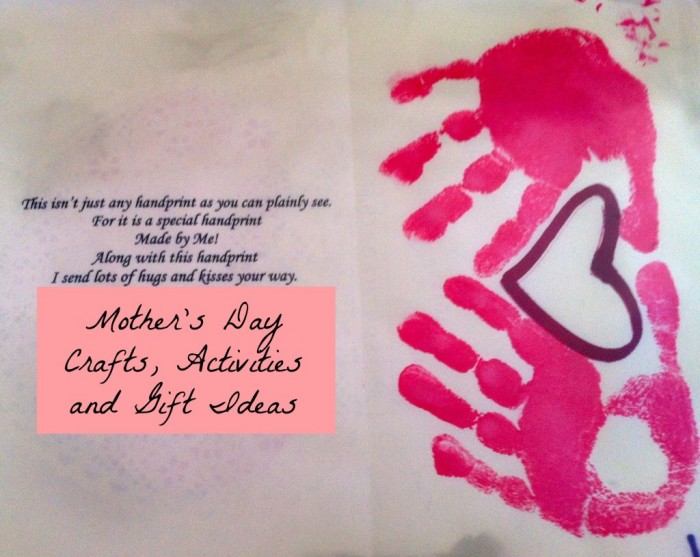 Mothers Day - Heart, Hands and Poem