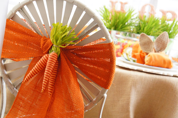 Carrot Chair Cover