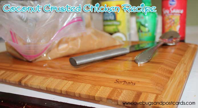 View our Coconut Crusted Chicken Recipe