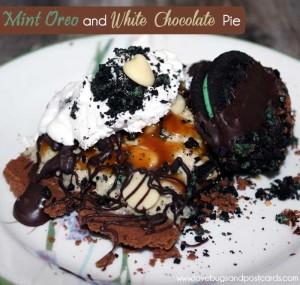 Mint Oreo and White Chocolate Pie Recipe