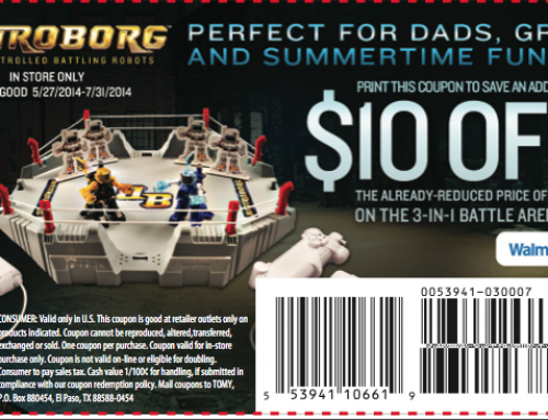Battroborg – Motion Controlled Battling Robots $10 Coupon {Perfect Gift for Father's Day}