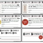 """Dadtastic"" Father's Day Coupons {Free Printable}"
