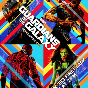 """MARVEL'S """"GUARDIANS OF THE GALAXY"""": AN IMAX® 3D FIRST LOOK"""