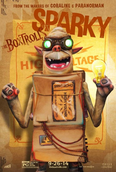 Meet the Boxtrolls #theBoxtrolls