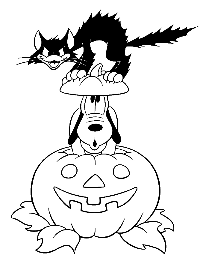- Free Disney Halloween Coloring Pages - Lovebugs And Postcards