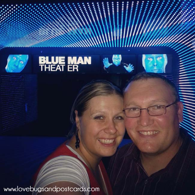 Blue Man Group Las Vegas Review