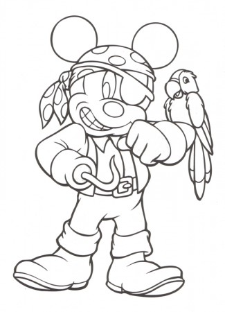 free disney halloween coloring pages - photo#20