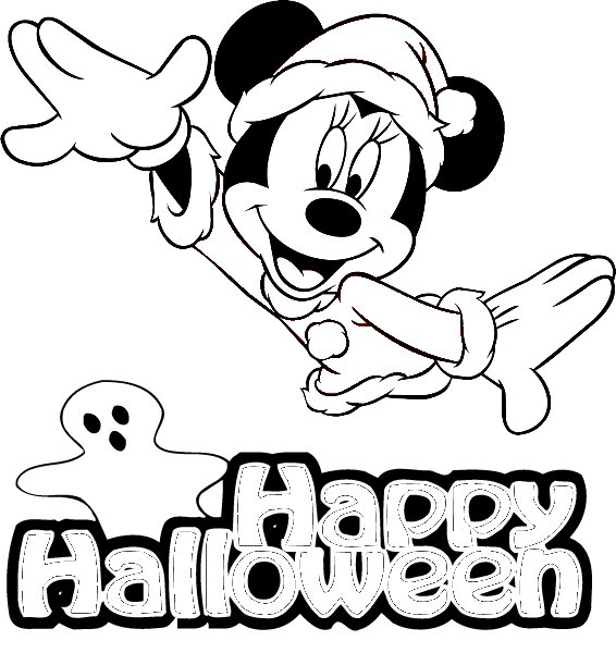 printable coloring pages disney halloween - photo#3