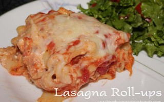 Lasagna Roll-ups Recipe