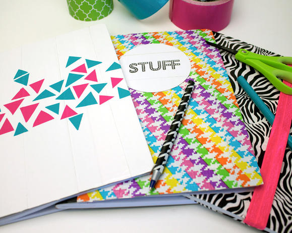 Duck Tape Notebooks