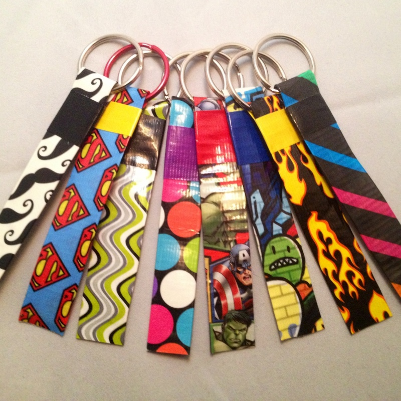 Duck tape crafts and our duck tape party lovebugs and for Mini duct tape crafts