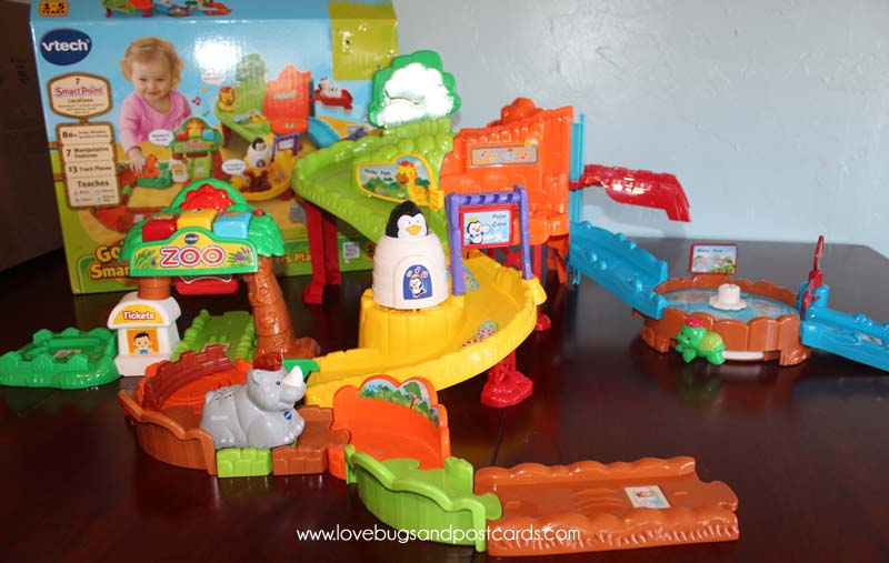 VTech Go! Go! Smart Animals Zoo Explorers Playset is the perfect gift for your Child