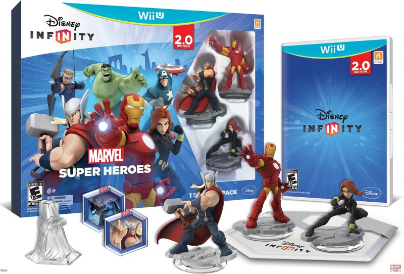 Disney Infinity Marvel Super Heroes Set