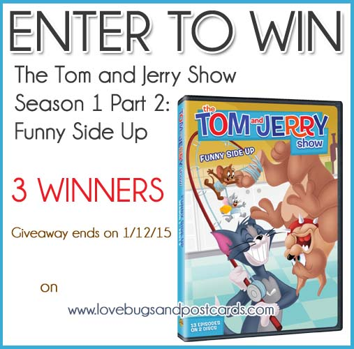 GIVEAWAY: The Tom and Jerry Show DVD  (ends 1/12/14)