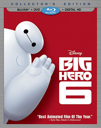 Big Hero 6 on DVD + Blu-Ray