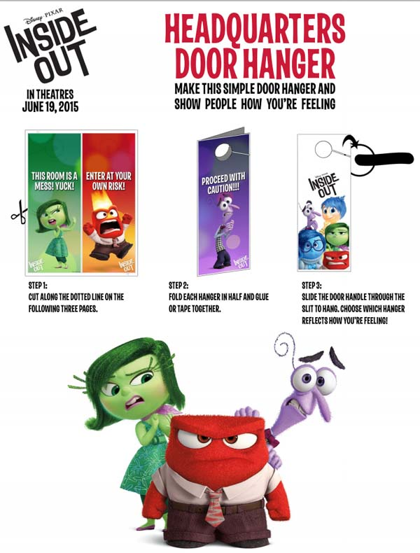 Inside Out Door Hanger