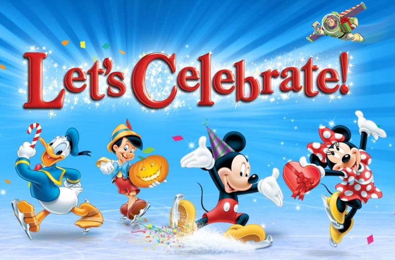 Lets Celebrate Disney On Ice