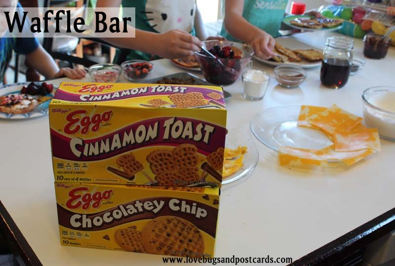 Waffle Bar Breakfast with Eggo