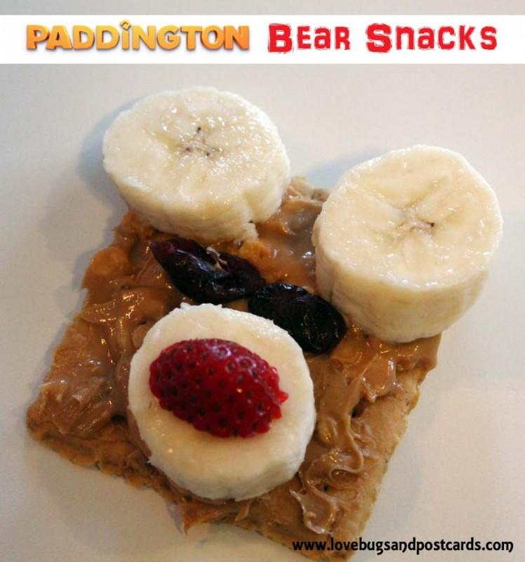 Bear Snacks - Paddington the Bear Party #Paddington #MovieNight