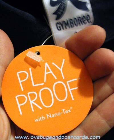 Gymboree Nanotex Clothes