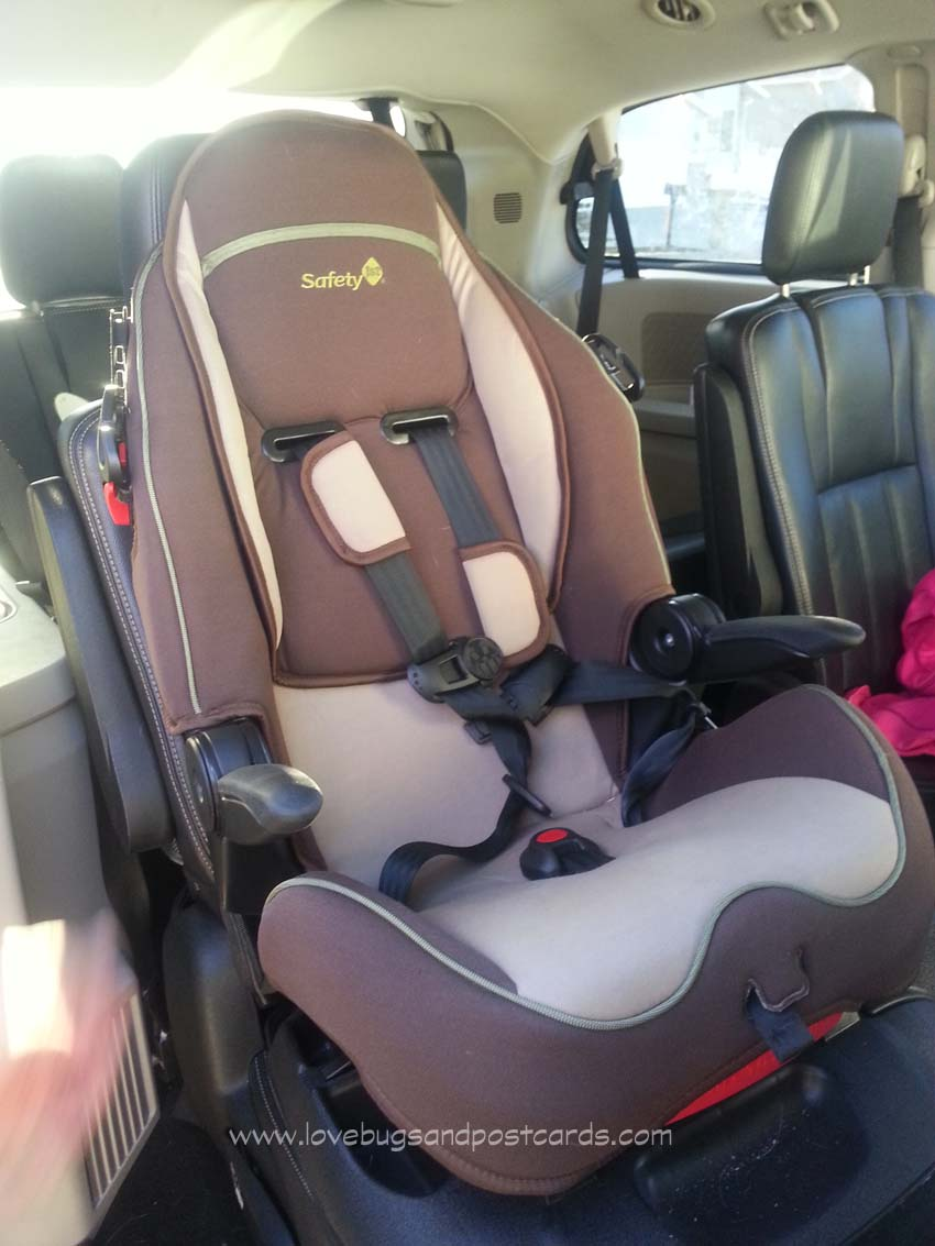 Summit® Deluxe High Back Booster Car Seat by Safety 1st
